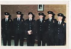 Long Service presentations in 1980s