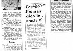 1970's Obituaries for John Wilkins, Richard Taylor and Richard Petty