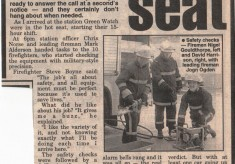 Citizen reporter joins Green Watch for the day