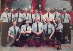 Green Watch 1990's (Joe Pickup's retirement)