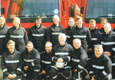 Green Watch at Joe Pickups'retirement