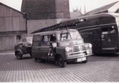 Bedford Van No 9 KBV244 Station van with trailer carrying hose