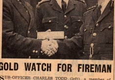Retirement of Charles Todd