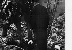 1960s Fireman breaks leg fighting mill fire