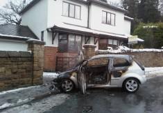 Car Fire Pleasington Lane 2010