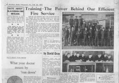 Training the power behind our efficient fire service an article by C.F.o. Birtwistle