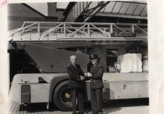 Retirement of Leading Fireman R. Taylor