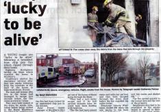 Fire in Isherwood Street 2011