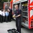 2004  Fire Safety visit Queen Elizabeths Grammar school