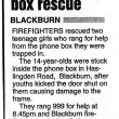 1990's Rescue from phone box