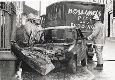 Green Watch Car Crash 1989 Gorse St Blackburn