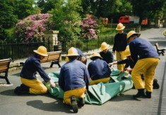 White watch drill in Corporation park 1990's