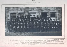 Number 29 N.F.S Area Operational Staff A 4Z  1940's
