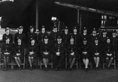Blackburns' Wartime Watchroom Staff