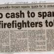2002 Strike No Cash To Spare