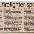 2002 Strike How A Firefighter Spends His Day