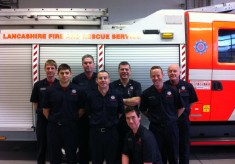 White Watch At The New Fire Station 2013