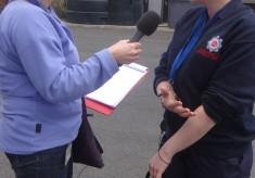 Radio Lancashire Comes To Blackburn Fire Station