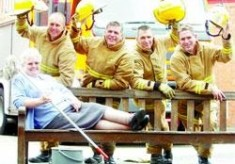 Fire Station cleaner retires in blaze of glory