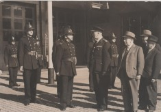Station Inspection 1953
