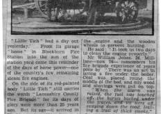 """""""Little Tich"""" Steam Fire Engine"""