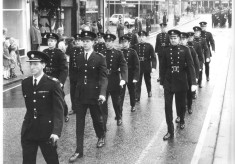 Photos from C. F. O. Bill Williams' files Marching And Inspecting