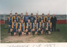 Orphanage Cup Final Darwen Anchor Ground 1997