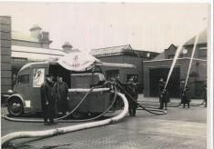 Drill Blackburn Fire Station Yard 1941
