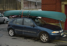 A Cold Canoe Trip