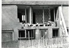 Gas Explosion, Fishmoor Estate, Blackburn, Red Watch.