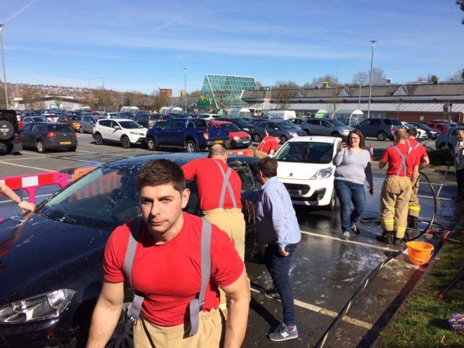 Fire Service Car Wash Blackburn