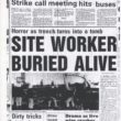 Site Worker Buried Alive