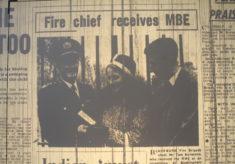 Fire Chief Tom Birtwistle Receives M.B.E