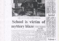 Mystery Blaze At Lammack High School
