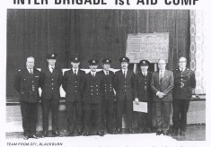 Inter-Brigade First Aid Competition