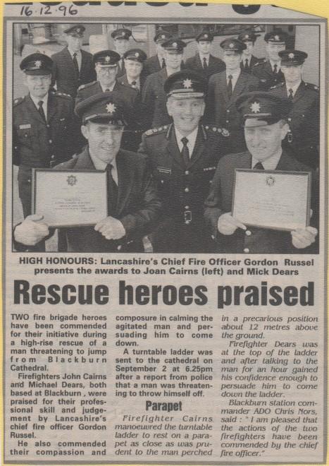Rescue Heroes Praised 1996