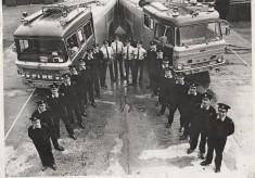Firefighting force of the eighties
