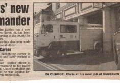 1990's New Commander at Blackburn