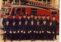 Watch photo in front of old Byrom Street fire station