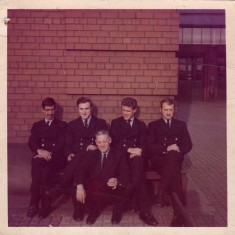 White watch before 1974