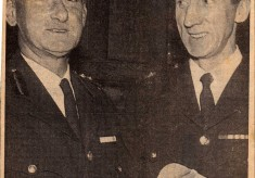 Chief Fire Officer Birtwistle Retires 1968