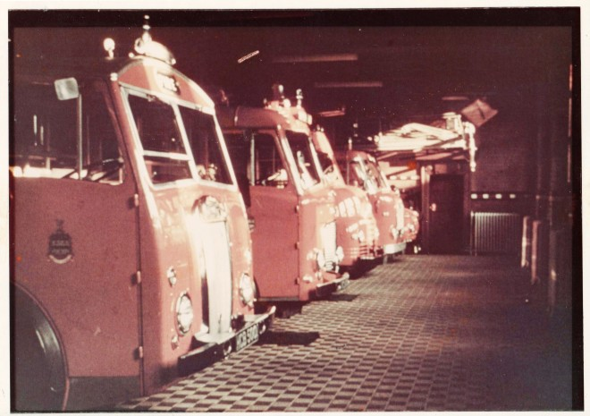1972 Fire Engines at rest