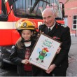 Chief Fire Officer Gives Artwork Prize 2010