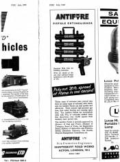 Advert For Extinguishers Circa 1960's