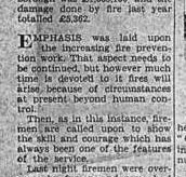 An article by C.F.O Thomas Birtwistle talking about the Brookhouse Mill fire