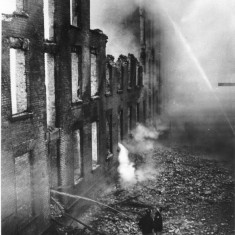 Brookhouse Mill Fire 31st March 1954