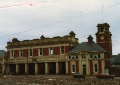 1980's Byrom street fire station