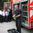 2004  Fire Safety visit Queen Elizabeths Grammar school