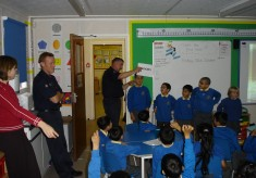 School Visit for childsafety
