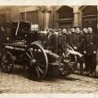 Blackburn fire brigade on practise. circa  1911